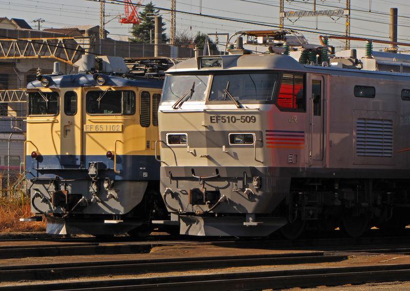 EF 510-509 'Cassiopeia', Tabata depot (Tôkyô)