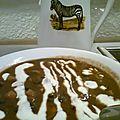 Soupe de haricots noirs sauce au piment jalapeno