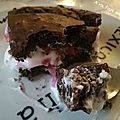 Gâteau moelleux choco-cerise