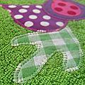 bavoir vert