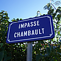 Mauléon (79), impasse Chambault