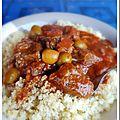 Boeuf aux olives et chorizo