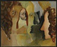 Marcel Duchamp, Yvonne et Magdeleine déchiquetées, 1911