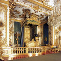 The representative bedroom of King <b>Ludwig</b> <b>II</b> of Bavaria in Herrenchiemsee restored