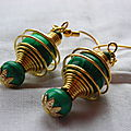 Cages spirales Malachite
