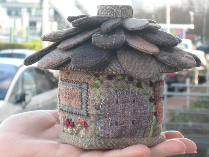 Noël 2011 - Range-dés - Maison 3D Reiko Kato