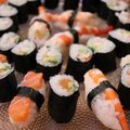 Makis et sushis maison