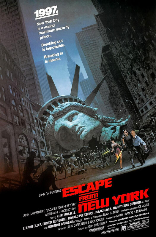 affiche - Escape from NY 02