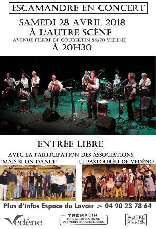 Affiche concert Vedène 2018 - Copie - Copie - Copie