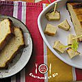 Pain de surimi et cake à la moutarde