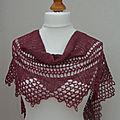 Nouveau design: mythos châle au crochet / design new: mythos shawl crochet