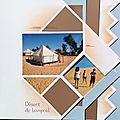 Le désert de lompoul : pages multiples