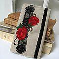 ensemble lin brodé dentelle et fleurs 001bis
