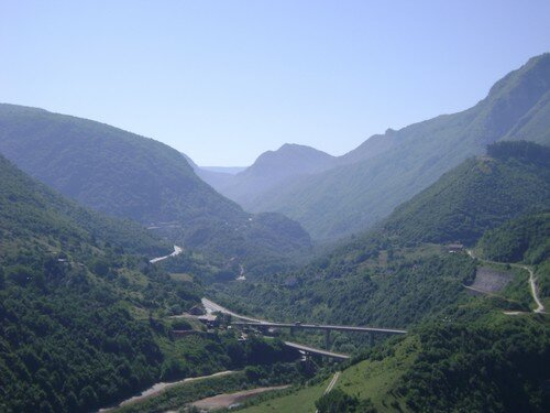 Bosnie, Sarajevo, montée au fort
