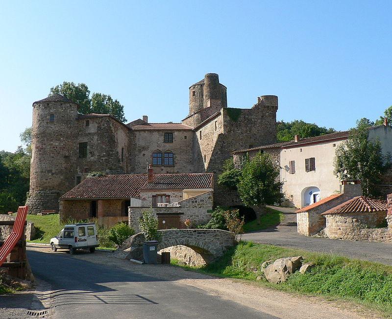 château de Saint-Gervazy