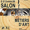 Salon des métiers d'art 2008