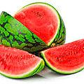 La pastèque, fruit rouge de l'été