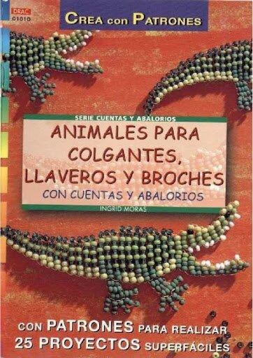 Animales para colgantes llaveros y broches