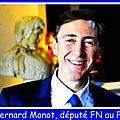 Bernard monot présente le bulletin économique du front national - 22/04/2016