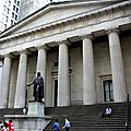 30 juin - wall street - trinity church - st paul chapel - mémorial du 11/9 et times square