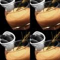 Fondue au panais et boudin noir