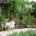 Le jardin blanc
