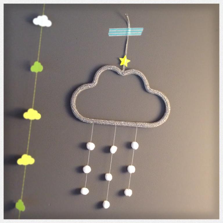 a vendre nuage de neige deco trendy a t e l i e r. Black Bedroom Furniture Sets. Home Design Ideas