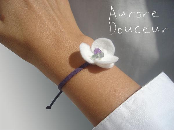 Aurore_bracelet_violet