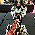 Jolin participates in a cake competition in the uk!