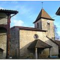 Chavannes-sur-suran - son église