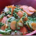 Flan carottes-courgettes