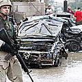 Les forces us en irak