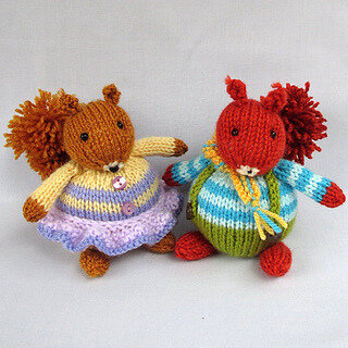 Traduction Toy Squirrels - Wendy Phillips