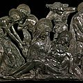 <b>Donatello</b>, Lamentation Over the Dead Christ, ca. 1455–1460