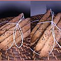 Gressins express parmesan/citron/basilic