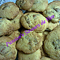 <b>Biscuits</b> aux figues, <b>gingembre</b> et cannelle