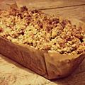 Banana bread crumb cake (vegan)