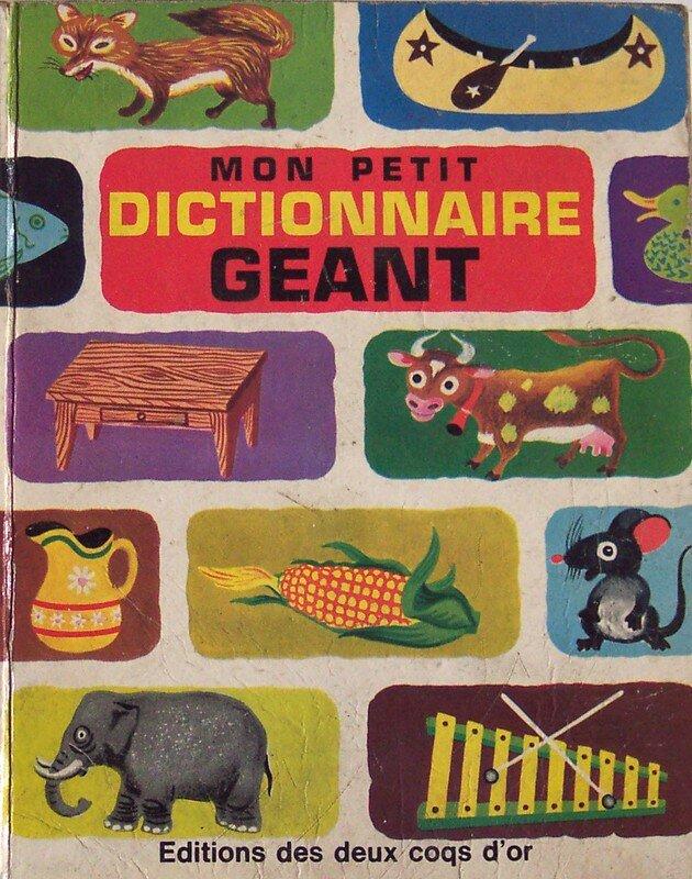 Mon petit dictionnaire géant