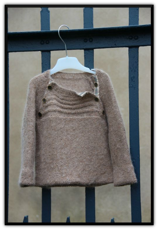 tricoter pull 5 ans