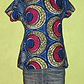 Tunique tissu africain