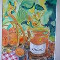 Les abricots du verger