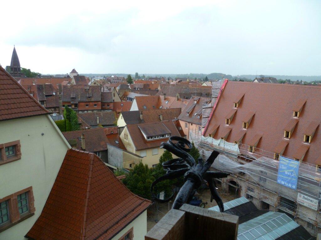 vue sur la ville depuis la tour neuve
