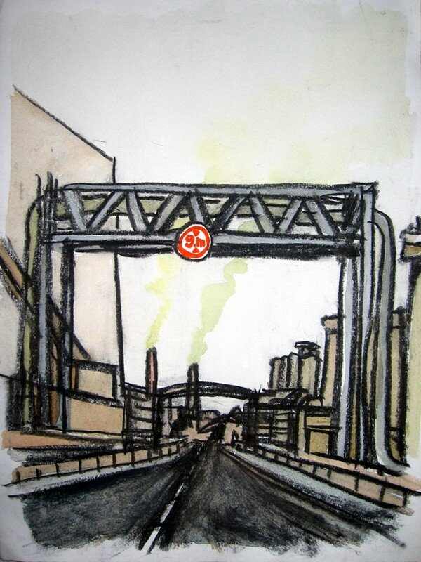 zone industrielle de Rouen