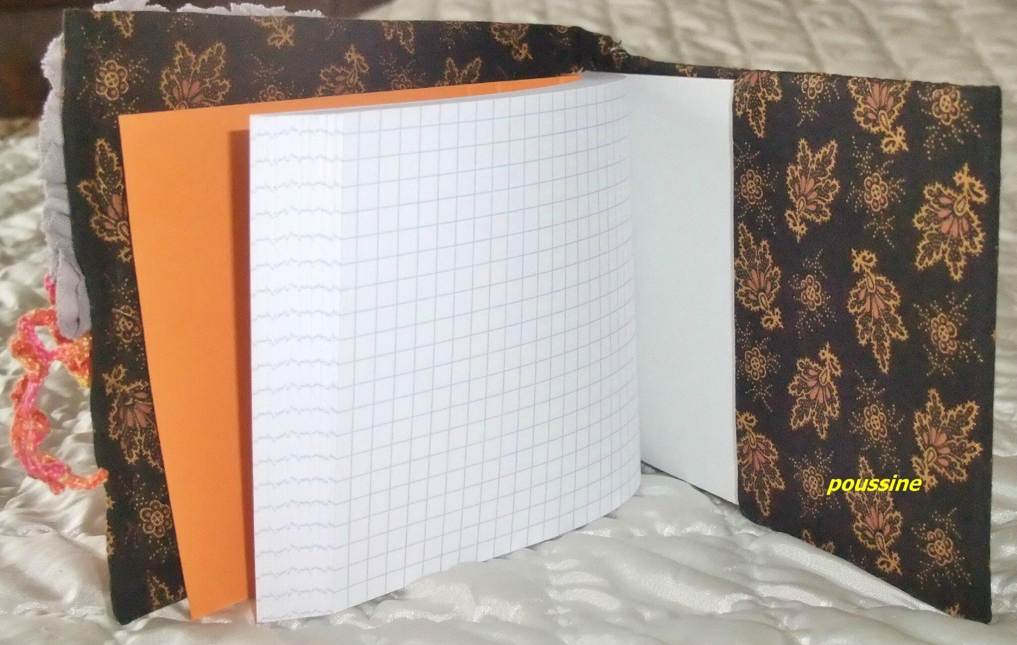 carnet orange4a