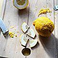 Effeuillage de cédrat l'ancêtre du citron