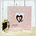 carte à la chaine pour la Saint-<b>Valentin</b>