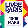 <b>Salon</b> du <b>livre</b> <b>Paris</b> 2019