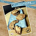 Galettes sarrasin farine de riz et flocons d'avoine (sans gluten)