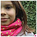 IMG_0671-owly-mary-du-pole-nord-fait-main-snood-col-echarpe-cache-cou-tour-etoile-rose-fuchsia-vert-anis