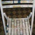 Chaise etiquettes vin 1